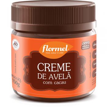 Creme de Avelã Tradicional Zero - 150g - Flormel