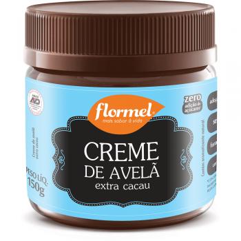 Creme Extra Cacau com Avelã Zero - 150g - Flormel