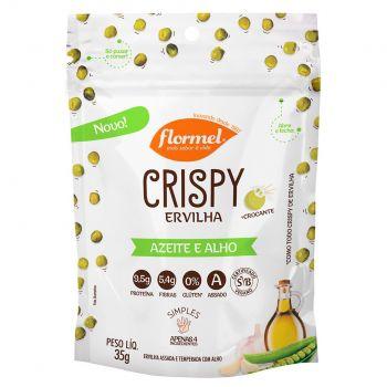 Crispy Ervilha Azeite e Alho (35g) - Flormel