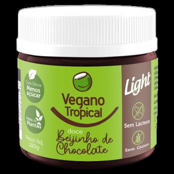 Doce Beijinho de Chocolate (180g) - Vegano Tropical