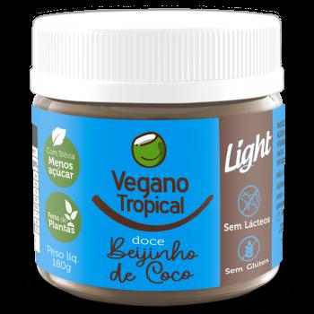 Doce Beijinho de Coco (180g) - Vegano Tropical
