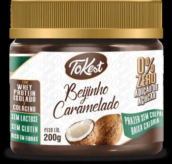 Doce Tokest Beijinho Caramelado (200g)