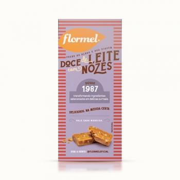Doces Doce de Leite com Nozes Zero (caixa 3 unidades) - Flormel