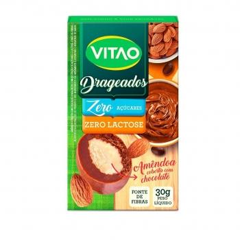 Drageados Zero Lactose Com Amêndoas (30g) - VITAO