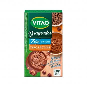 Drageados Zero Lactose Com Flocos de Arroz (30g) - VITAO