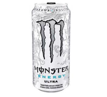 Energético Ultra Zero Lata (473Ml) - Monster