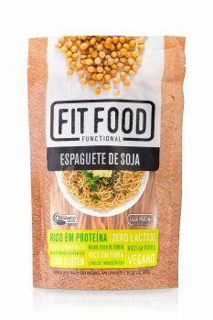 Macarrão Low Carb Espaguete de Soja (200g) - Fit Food