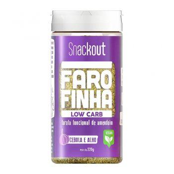 Farofa Farofinha Cebola e Alho Low Carb (220g) - Snackout