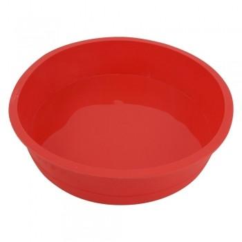Forma para Bolo Redonda Vermelha - Clink