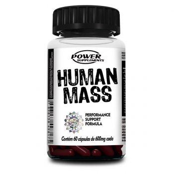 Multi Vitamínico Pro-Hormonal - Human Mass (60 Cápsulas) - Power Supplements