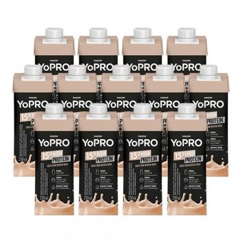 Kit 30 YoPRO 15g de Proteína Sabor Coco com Batata-Doce (250ml) - Danone