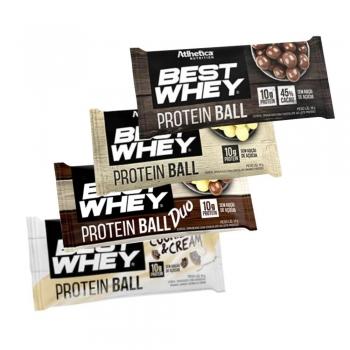 Kit 4 Protein Ball Best Whey - Atlhetica Nutrition