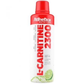 L-CARNITINE 2300 Limão (480ml) - Atlhetica Nutrition
