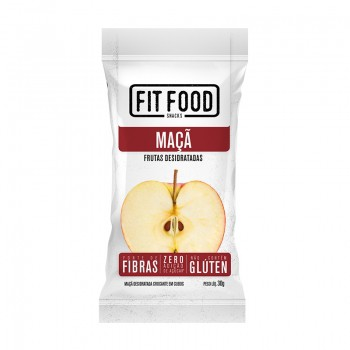 Maça Desidratada Snack (30g) - Fit Food