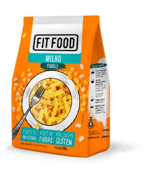 MACARRÃO FUSILLI MILHO (200g) - FIT FOOD