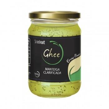 Manteiga GHEE Ervas Finas (180g) - Snackout