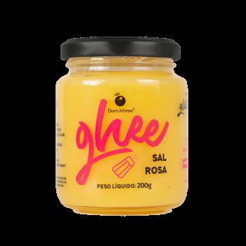 Manteiga GHEE Sal Rosa do Himalaia (200g) - Dom Afonso