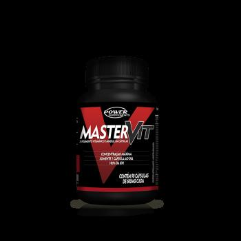Master Vit Multivitamínico e Mineral  (90 Cápsulas) - Power Supplements