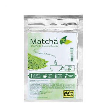 Matchá Emagrecedor Chá Verde Especial (40g) - MN Própolis