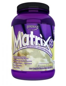 Matrix Whey Protein Blend Banana & Cream (907g) - Syntrax