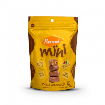 Mini Bombom com Amendoim (60g) -  Flormel