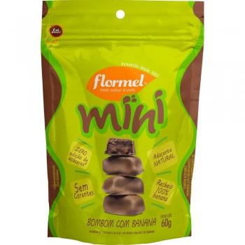 Mini Bombom com Banana (60g) -  Flormel