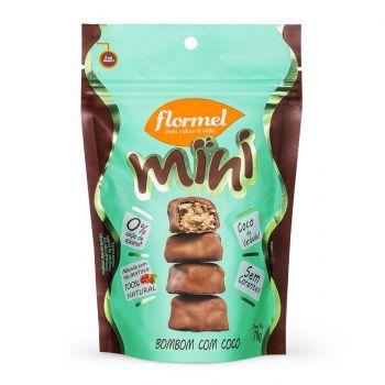 Mini Bombom com Coco (60g) -  Flormel