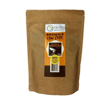 Mistura para Brownie de Chocolate Low Carb Sem Culpa (320g) - Dona Enxuta