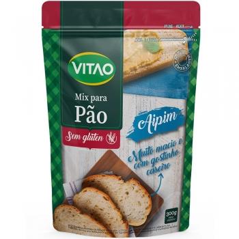 Mix Para Pão Sem Glúten Aipim (300g) - VITAO