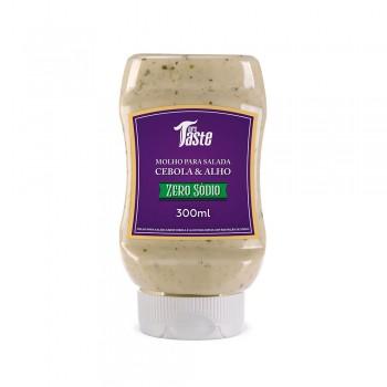 Molho para Salada Cebola e Alho Sem Sódio (300ml) - Mrs Taste