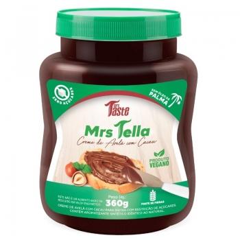 Mrs Tella Creme de Avelã com Cacau (360g) - Mrs Taste