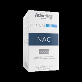 CLEANLAB NAC (60 Cápsulas) - ATLHETICA NUTRITION