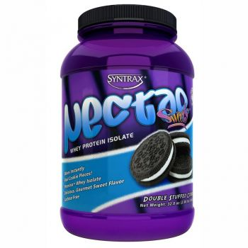 Nectar Whey Protein Isolado Double Stuffed  Cookies - Syntrax -  907g
