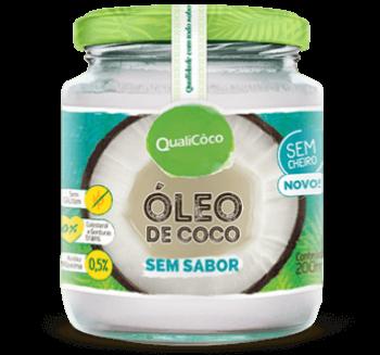 Óleo de Coco Sem Sabor - 200ml - QualiCôco