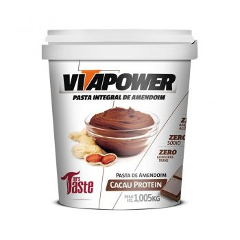 Pasta de Amendoim Cacau Protein (1,005kg) - VitaPower