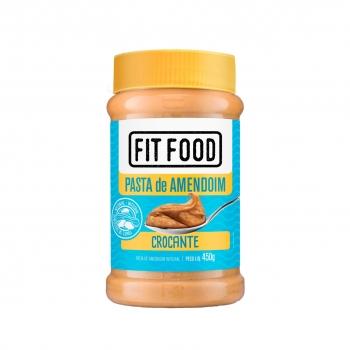 Pasta de Amendoim Crocante (450g) - Fit Food
