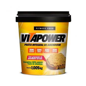 Pasta de Amendoim Crocante Protein (1,005kg) - VitaPower