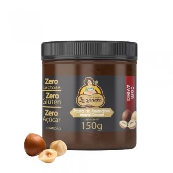 Pasta de Amendoim Integral Gourmet Com Avelã (150g) - La ganexa
