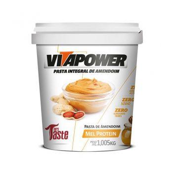 Pasta de Amendoim Mel Protein (1,005kg) - VitaPower