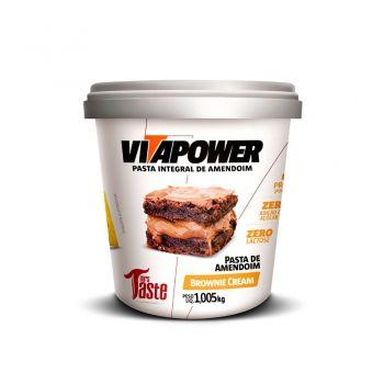Pasta de Amendoim Sabor Brownie Cream (1kg) - Mrs Taste