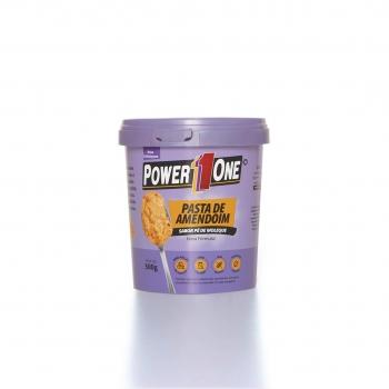 Pasta de Amendoim Sabor Pé de Moleque (500g) - Power1One