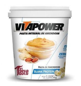 Pasta de Amendoim Blank Protein VitaPower - 1kg - Mrs Taste