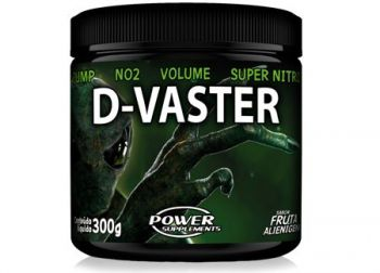 Pré-Treino D-Vaster (300g) - Power Supplements