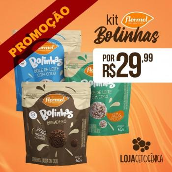 PROMOÇÃO: Kit 3 Bolinhas - Flormel