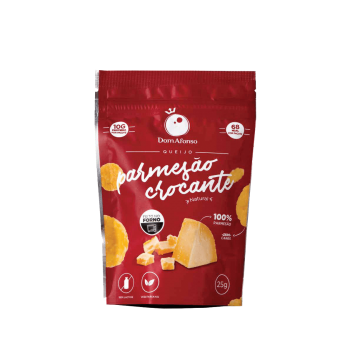Queijo Natural Crocante Parmesão Dom Afonso - 25g