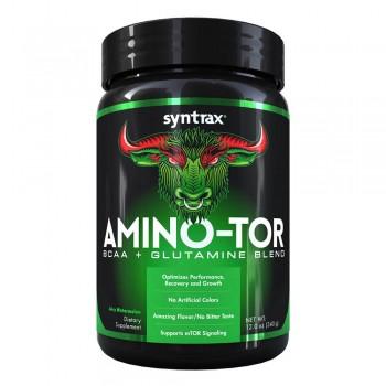 Super Aminoácidos - Amino-Tor BCAA + Glutamina Sabor Melancia (340g) - Syntrax