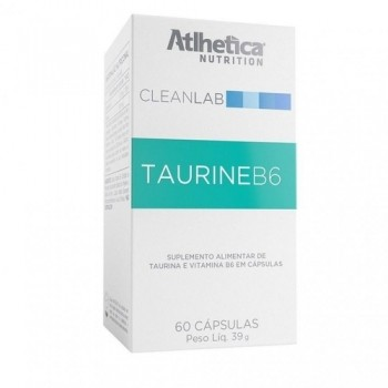 Taurine B6 CleanLab (60 caps) - Atlhetica Nutrition