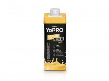 YoPRO 15g de Proteína Sabor Banana (250ml) - Danone