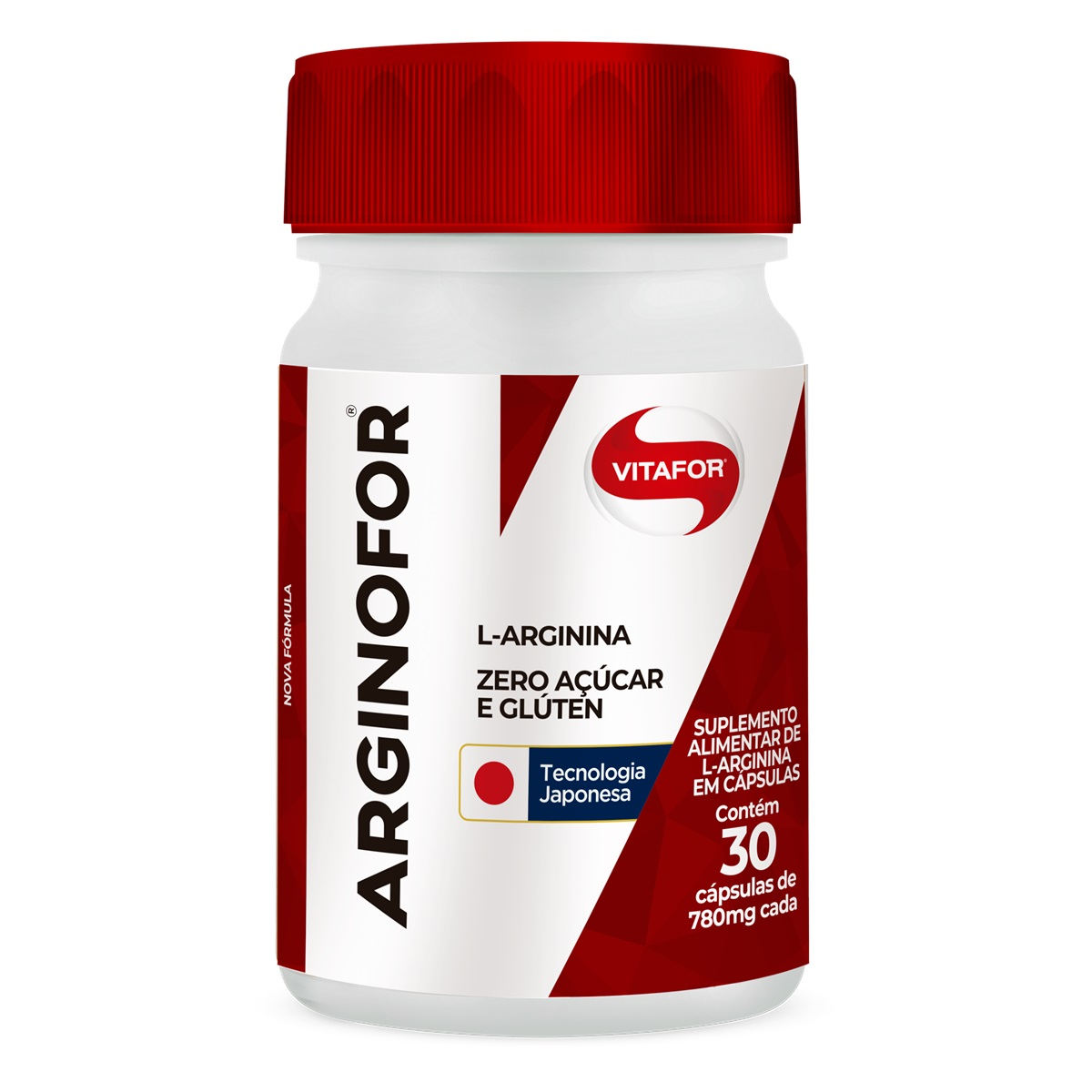ARGINOFOR L-Arginina (30 Cápsulas de 780mg) - VitaFor
