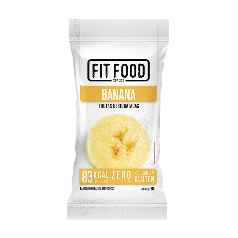 Banana Desidratada Snack (30g) - Fit Food